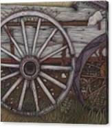 Colorado Wheels Canvas Print
