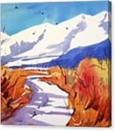 Colorado Winter 2 Canvas Print