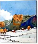 Colorado Winter 6 Canvas Print