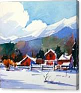 Colorado Winter 8 Canvas Print