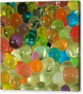 Colored Balls Canvas Print