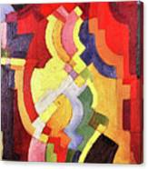 Colored Forms IIi By August Macke Canvas Print