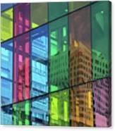 Colored Glass 10 Canvas Print