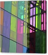 Colored Glass 11 Canvas Print