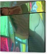 Colored Glass 14 Canvas Print