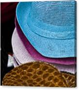 Colored Hats Canvas Print
