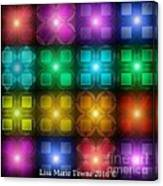 Colored Lights Canvas Print