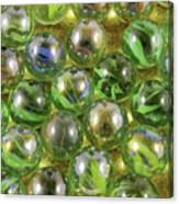 Colored Marbles Canvas Print