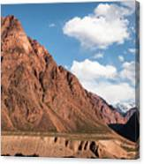 Colored Mountain Canvas Print