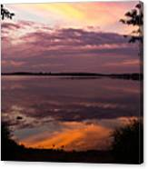 Colored Reflections Canvas Print