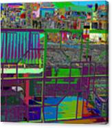 colorfication of Chinatown  Canvas Print