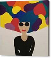 Color Fro Canvas Print