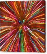 Colorful Abstract Photography Canvas Print