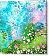 Colorful Art - Enchanting Spring - Sharon Cummings Canvas Print