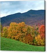 Autumnal Vermont Canvas Print