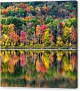 Colorful Autumn Reflections Canvas Print