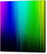 Colorful Background With Vertical Lines Canvas Print