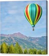 Colorful Balloon  Canvas Print