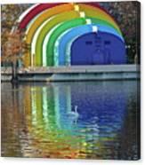 Colorful Bandshell Canvas Print