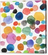 Colorful Bubbles Canvas Print