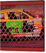 Colorful Car  Canvas Print