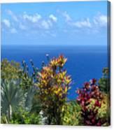 Colorful Coast Canvas Print