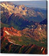 Colorful Colorado Planet Earth Canvas Print