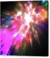 Colorful Cosmos Canvas Print
