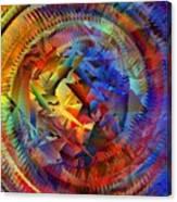 Colorful Crash 10 Canvas Print