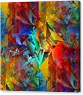 Colorful Crash 11 Canvas Print