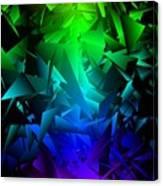 Colorful Crash 6 Canvas Print