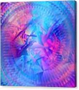 Colorful Crash 7 Canvas Print