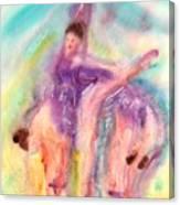 Colorful Dance Canvas Print