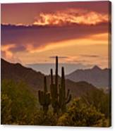 Colorful Desert Skies  Canvas Print