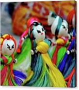 Colorful Dolls Canvas Print