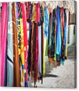 Colorful Dominican Garments Canvas Print