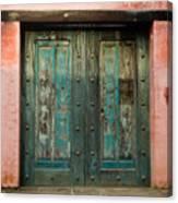 Colorful Doors Antigua Guatemala Canvas Print