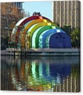 Colorful Downtown Orlando Canvas Print