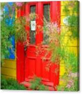 Colorful Entrance ... Canvas Print