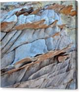 Colorful Fins Of Sandstone In Valley Of Fire Canvas Print