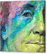 Colorful Franklin Canvas Print