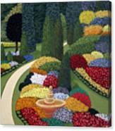 Colorful Garden Canvas Print