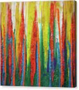 Colorful Grace Canvas Print