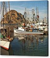 Colorful Harbor Canvas Print
