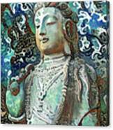 Colorful Indian Diety Figure Canvas Print