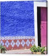 Colorful Mexico Canvas Print