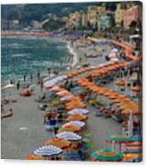 Colorful Monterosso Canvas Print