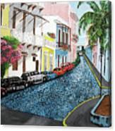 Colorful Old San Juan Canvas Print