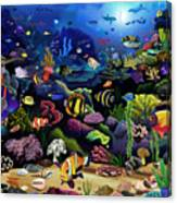 Colorful Reef Canvas Print