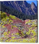 Colorful Rock Mesatrail Canvas Print